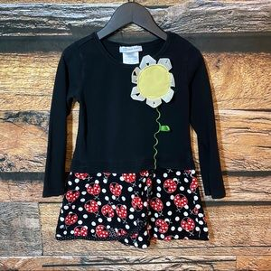 Bonnie Jean Ladybug Dress